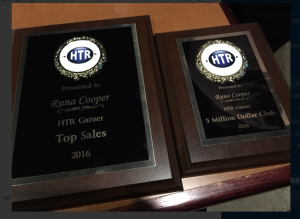 runa cooper htr sales awards